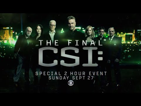 CSI: Crime Scene Investigation Season Finale SP Promo 'One Last Case'