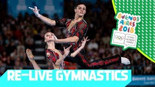 LIVE 🔴 Day 09: Artistic Gymnastics | Youth Olympic Games 2018 |Buenos Aires