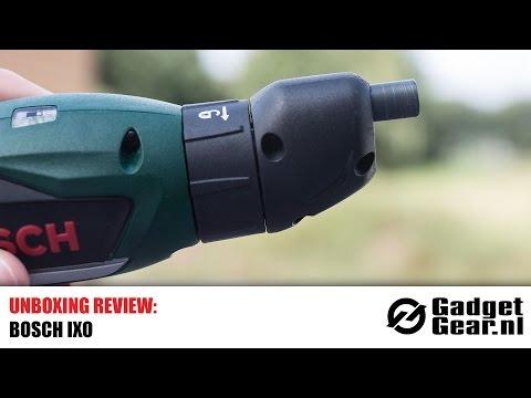 Unboxing Review: Bosch IXO accuschroevendraaier