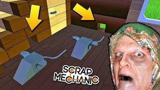В БАБКИНОМ ДОМЕ ЗАВЕЛИСЬ МЫШИ !!! МУЛЬТИК в СКРАП МЕХАНИК !!! Scrap Mechanic !!! МУЛЬТИК в СКРАП МЕХ