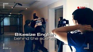 Behind the scenes «Bitesize English»