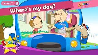 Bài 7_ (B) ở đâu con chó của tôi? - Trong On Dưới - Cartoon Câu chuyện