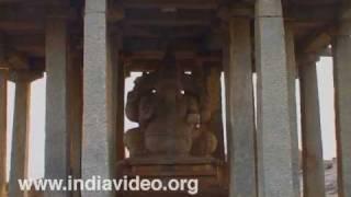 Lord Ganesha Idol at Hampi