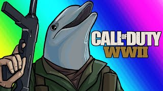 COD World War 2 Funny Moments - Silly Killcams and Drop Kill Attempts!