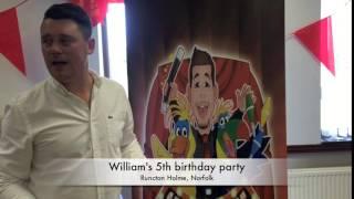 william's 5th birthday party