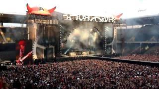 AC/DC Live Intro / Rock 'N Roll Train im Stade de Suisse Bern 8.6.2010 HD