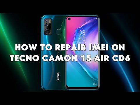 How To Repair IMEI On Tecno Camon 15 Air CD6 - [romshillzz]