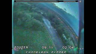 Raw fpv fly at golf course
