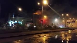 пожар в Богатыре 17.09.2016