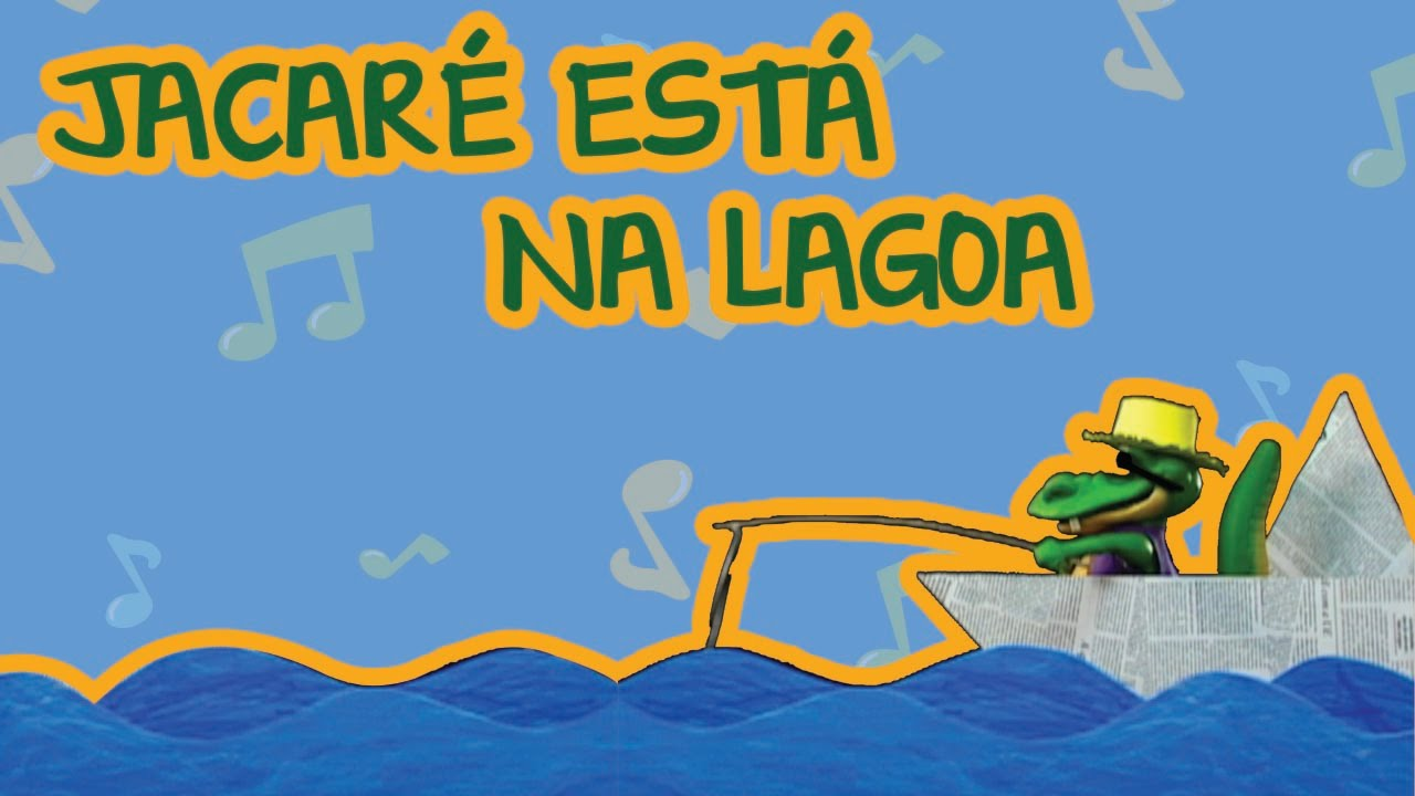 JACARÉ ESTÁ NA LAGOA | BEBÊ MAIS BICHOS 2