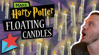 How To Make Floating Candles From Harry Potter DIY | JiffyWiz