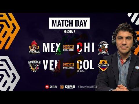MÉXICO VS CHILE | VENEZUELA VS COLOMBIA | COPA POR NACIONES CLASH ROYALE GEMS