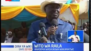 Raila asema kuwa washukiwa wa ufisadi wakamatwe