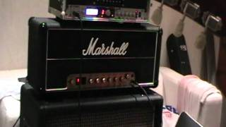 preview picture of video 'Dan Gower modded 'Cali Mod' Marshall JMP'