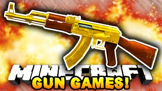 Minecraft HUNGER GAMES WITH GUNS! #2 (Vanilla Minecraft) - w/PrestonPlayz