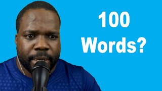 Can I Learn 100 English Word in 1 Hour? | Martisz Legal