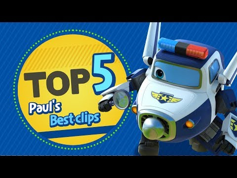 Paul's Best Clips | Top 5 | Superwings Hot Clips Highlight