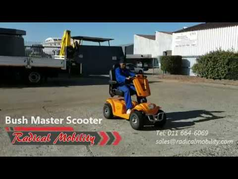 Bush Master Mobility Scooter