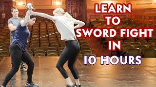 Mastering Basic Sword Fighting in 10 Hours   Vanity Fair