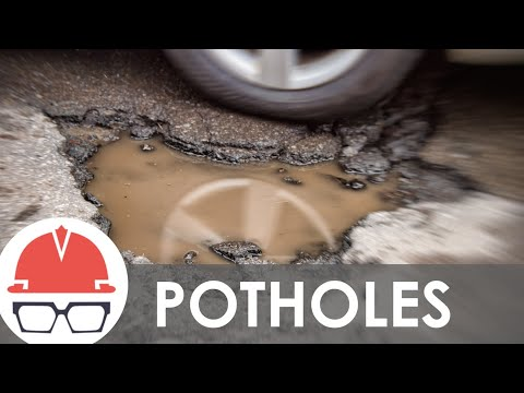 What Causes Potholes?