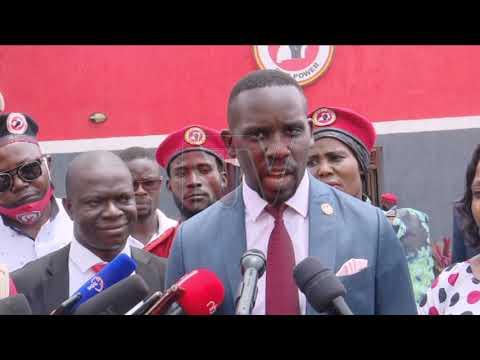 BAKYALIDDE KYAGULANYI: Ababaka b'amawanga ga bulaaya babadde mu kafubo