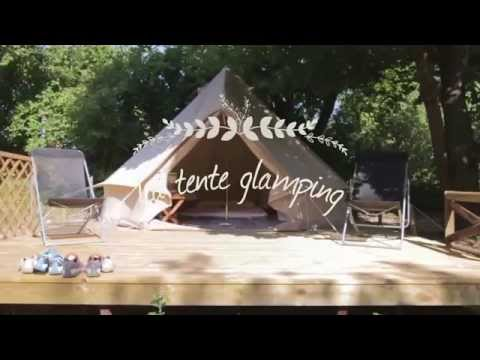 Tente Glamping Camping les Chamberts
