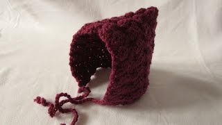 VERY EASY crochet winter pixie hat tutorial - all sizes