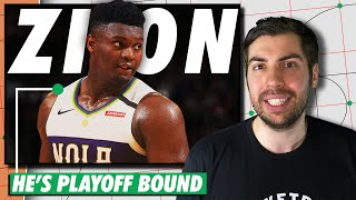 How Zion Williamson Will Lead the Pelicans to the NBA Playoffs | The Restart | The Ringer