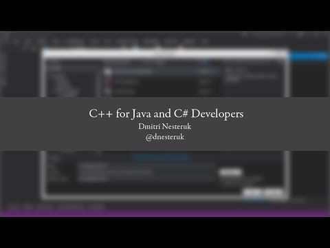 C++ for Java and C# Developers