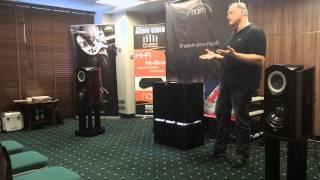 Jason Gould introducing Naim Statement