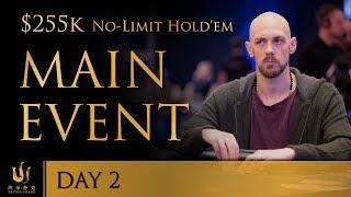 Triton Poker Series JEJU 2018 - Main Event No Limit Hold'em $255K Buy-In 2/3