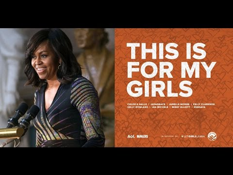 Michelle Obama | 'This is For My Girls' Released for Charity