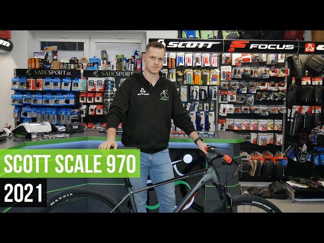 Видео Велосипед Scott Scale 970 Red