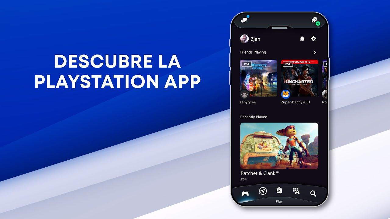 Presentamos la nueva PlayStation App, rediseñada para mejorar tus experiencias de gaming en PS4 y PS5