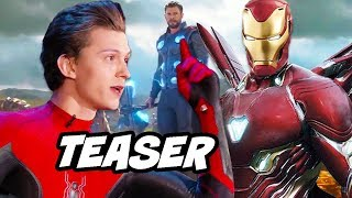 Spider-Man Far From Home Teaser - Tom Holland Explains The New Suit