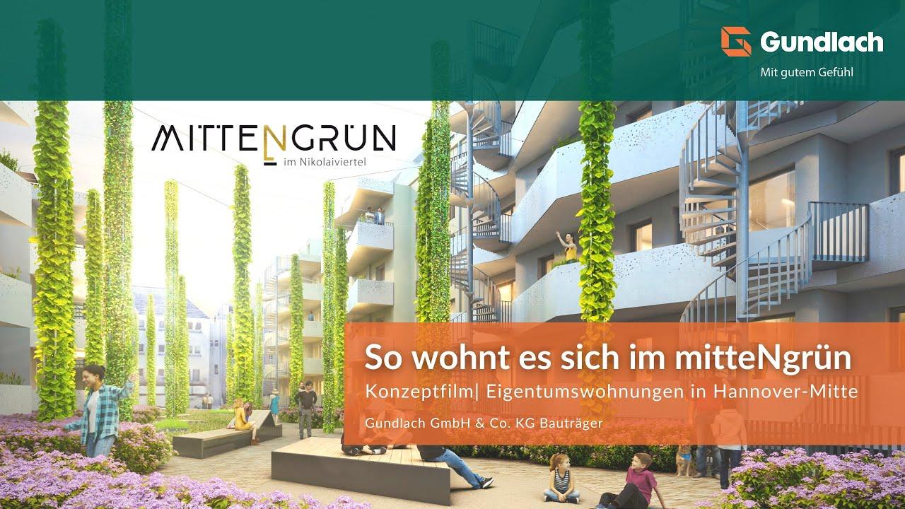 MITTENGRÜN im Nikolaiviertel | Neubauprojekt | Eigentumswohnungen in Hannover-Mitte