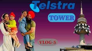 CANBERRA TELSTRA TOWER TOUR || GREAT PLACE TO VISIT WITH FAMILY || AWESOME VIEW || VLOG - 5