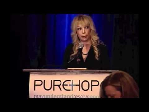 2011 pureHOPE Banquet: Shelley Lubben 1/2