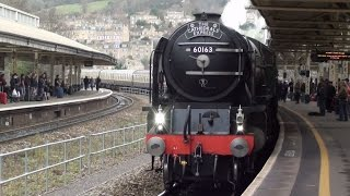 preview picture of video '2011 REVIEW - Steam Trains through Bath 2011.mp4'