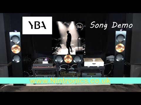 YBA IA350A HiFi Integrated Amplifier & Dac Song Demo Fink Troubles what youre in