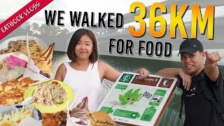 COAST TO COAST: WE WALKED 36KM FOR FOOD | Eatbook Vlogs | EP 105