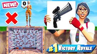 SCOPED PISTOL Parkour  SCORECARD CHALLENGE *NEW* Game Mode in Fortnite Battle Royale