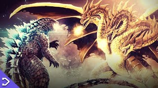King Ghidorah DWARFS Godzilla! - King Of The Monsters