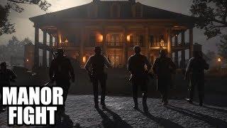 RED DEAD REDEMPTION 2 - Assault on Braithwaite Manor / Best Scene