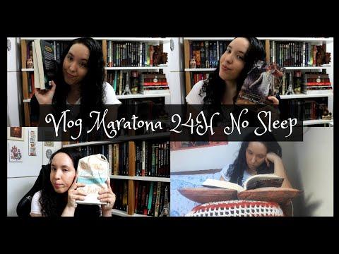Vlog Maratona 24 horas No Sleep | Um Livro e Só