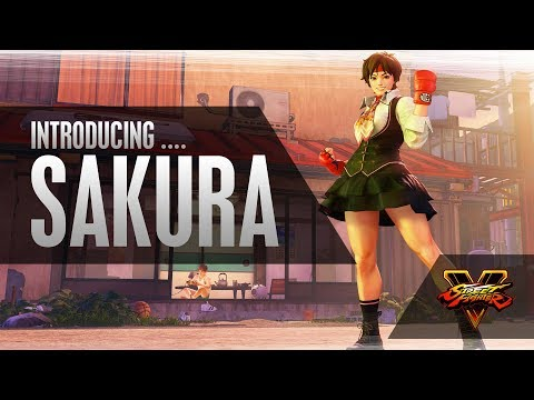 Street Fighter V : Vidéo d'introduction de Sakura
