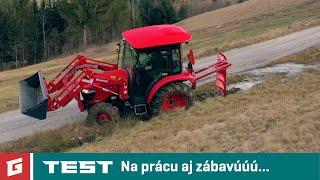 Branson 5025R/C 2,3D - TEST - kompaktny traktor - GARAZ.TV