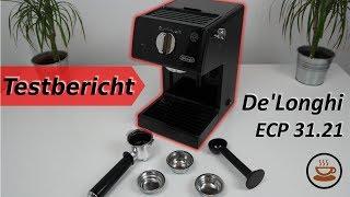 ☕ De'Longhi ECP 31.21 Espressomaschine im Test! - Für den günstigen Einstieg