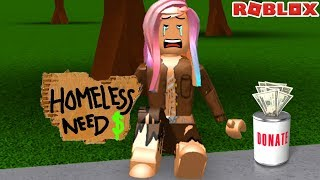 SPOILED RICH GIRL BECOMES HOMELESS! A RICHES TO RAGS STORY