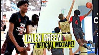 Jalen Green Is The CRAZIEST 10TH GRADER YOU'VE EVER SEEN!! OFFICIAL MIXTAPE! TERRORIZING DEFENDERS!